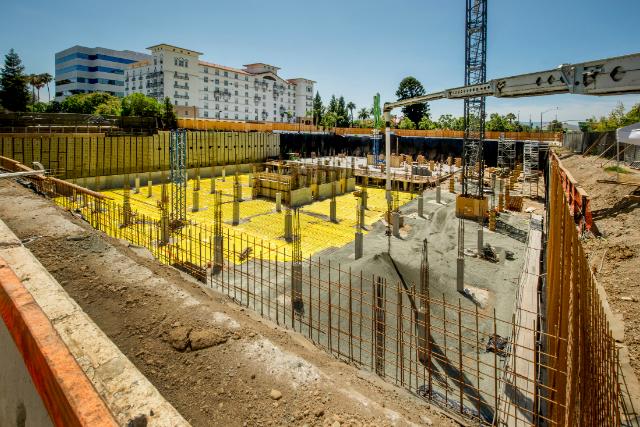 Portland Commercial Excavation site